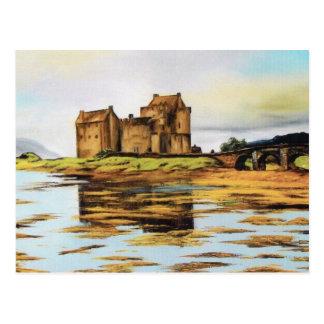Vykort - Eilean Donnan slott