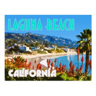 Vykort för affisch för Laguna strandvintage resor