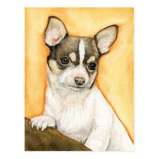"""Vykort """"för Chihuahua"""" hundkonst"""