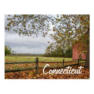 Vykort för Connecticut landlantgård