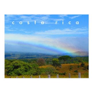 Vykort för Costa Rica bygdregnbåge