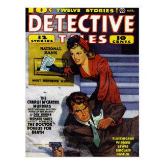 """Vykort """"för detektiv- sagor"""""""