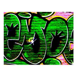 Vykort för grafitti 18