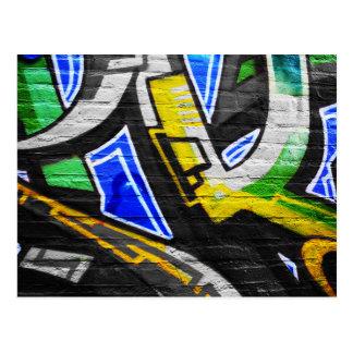 Vykort för grafitti 6
