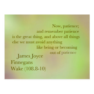 Vykort för James Joyce Finnegans