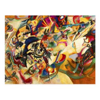 Vykort för Kandinsky sammansättning VII