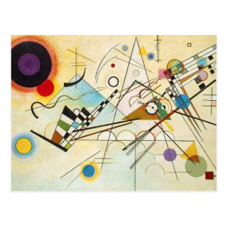 Vykort för Kandinsky sammansättning VIII