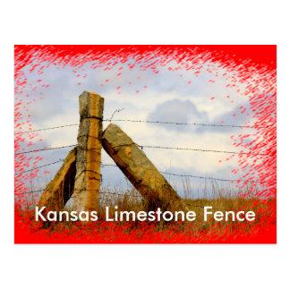 Vykort för Kansas Limestonestaket