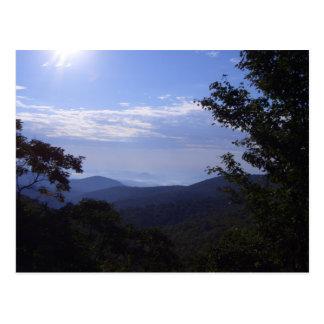 Vykort för natur BV och berg
