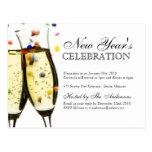 Vykort för nyårsaftonpartyinbjudningar