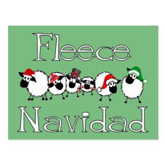 Vykort för ullNavidad rolig jul