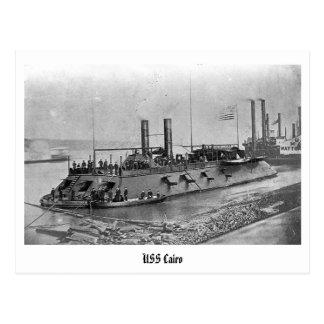 Vykort för USS Cairo