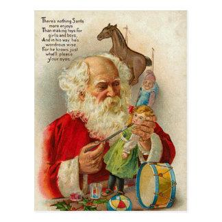 Vykort för VictorianSanta jul