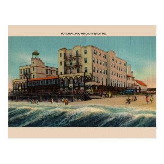 Vykort för vintagehotellHenlopen Rehoboth strand