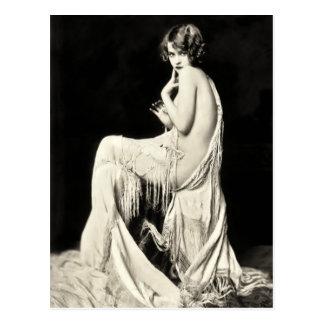 Vykort för Ziegfeld körflicka