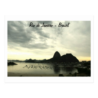 Vykort från Rio de Janeiro