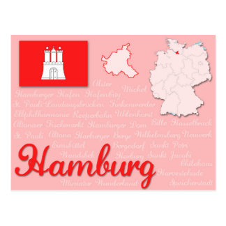 "Vykort ""Hamburg "","