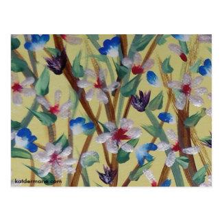 """Vykort - """"har våren fjädrat """","""