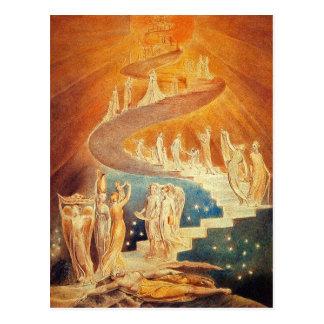 Vykort: Jacob stege - William Blake Vykort