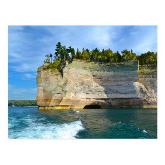 Vykort/Lake Superior medborgareShoreline Vykort