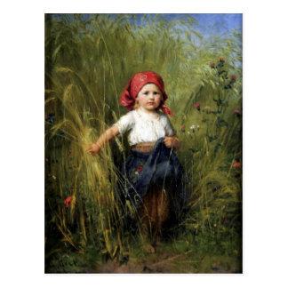 Vykort med Heinrich Hirt målning
