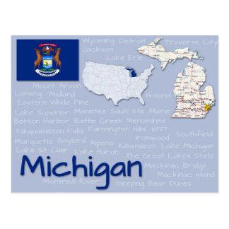 "Vykort ""Michigan "","