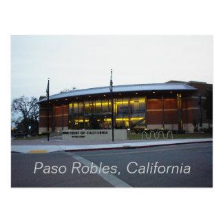 Vykort: Överrätt Paso Robles, Kalifornien Vykort