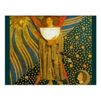 Vykort: Rossettis målning av kärlek
