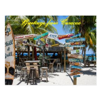 Vykorthälsningar från Curacao Vykort