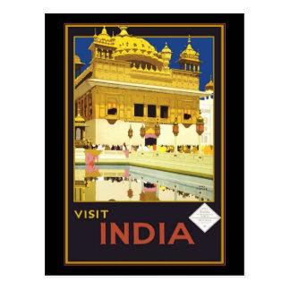 Vykorthälsningar Indien Vykort