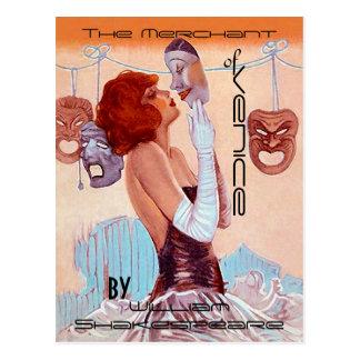 VykortvintageTheatre-Affisch-Look Shakespeare Vykort