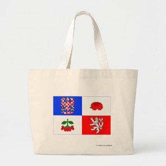 Vysočina flagga tote bags