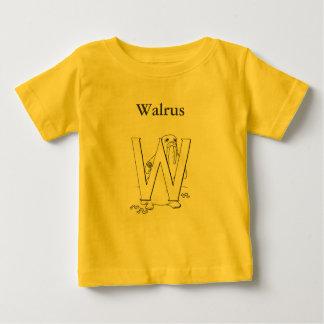 W är för valross tee shirts