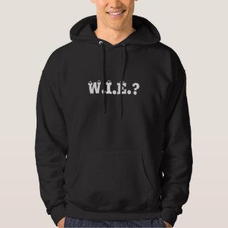 W.I.E.? Akronymen ifrågasätter hoodien Sweatshirt Med Luva