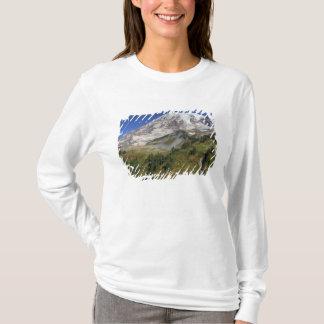 WA den Mount Rainier nationalparken, beskådar från T-shirts