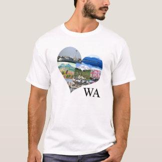 WA påstår den Seattle T-tröja Tröjor