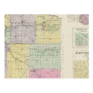 Wabaunsee län, Kansas Vykort