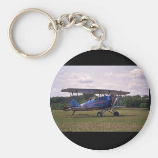 Waco Taperwing, flyg 1929_Classic Rund Nyckelring