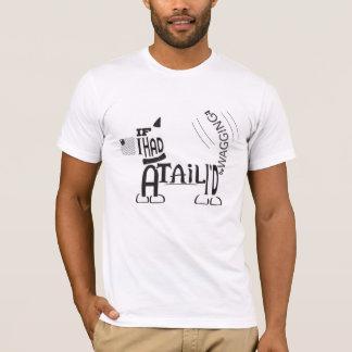 Wag din svant-skjorta för lyckliga hund älskare tee shirt