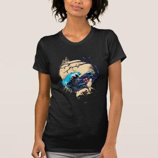 Wahine nimbus (svarten) tee shirt
