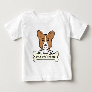 Walesisk Corgi för personligkofta T Shirts