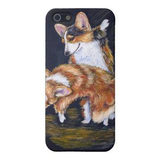 Walesisk Corgiiphone case för Pembroke iPhone 5 Cover