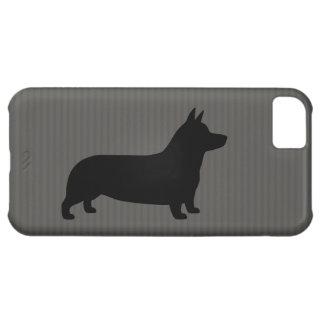 Walesisk CorgiSilhouette för Pembroke iPhone 5C Fodral