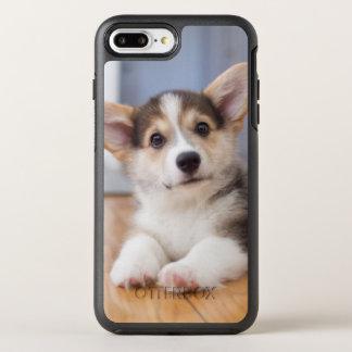 Walesisk Corgivalp för Pembroke OtterBox Symmetry iPhone 7 Plus Skal