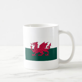 Walesisk drake kaffemugg