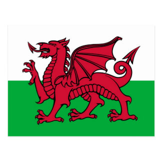Walesisk drake vykort