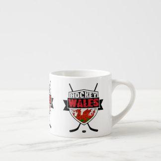 Walesisk ishockey skyddar koppen espressomugg