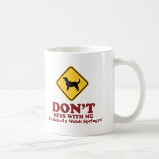 Walesisk SpringerSpaniel Kaffemugg