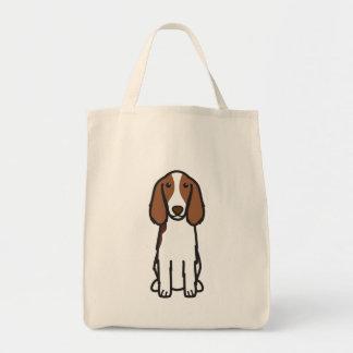 Walesisk tecknad för hund för SpringerSpaniel Tygkasse
