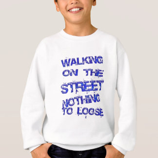 Walkin på gatan tee shirts